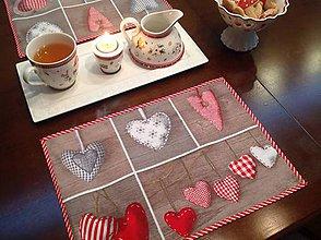 Úžitkový textil - Vianočné prestieranie - Pre dvoch - - 5906813_
