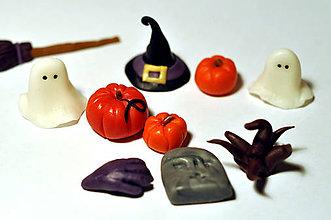Drobnosti - Halloweensky set na cupcakes (10 ks) - 5910392_