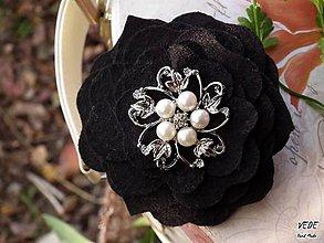 Odznaky/Brošne - Lady Black - 5943816_