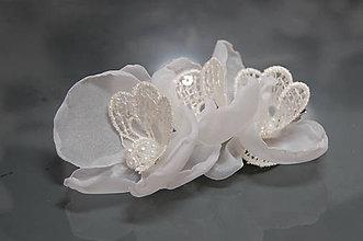 Ozdoby do vlasov - Orchidea Lace Collection ... spona - 5954980_