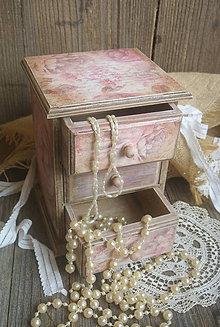 Krabičky - Ruže a písmo... - 5958458_