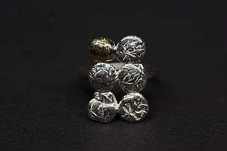 Prstene - DOMINO - prsteň šestka - 5965437_