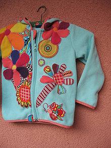 Detské oblečenie - Hra farieb a kvietkov - 5978986_