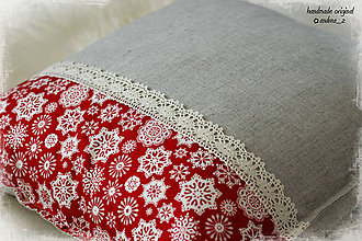 Úžitkový textil - scandi christmas vločky - 5989619_