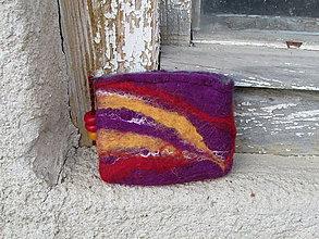 Peňaženky - fialová peňaženka - 5998950_