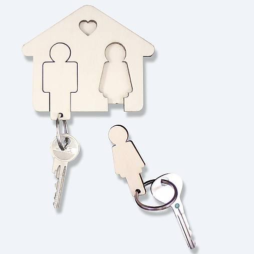 Vešiačik na kľúče Môj s Mojou :)