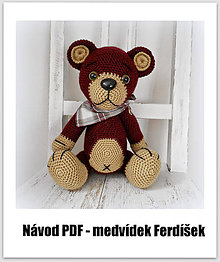 Kurzy - Medvídek Ferdíšek-návod - 6004624_