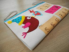 Detské doplnky - ...aj vtáčik už šteboce, že prichádzajú Vianoce - 6021101_