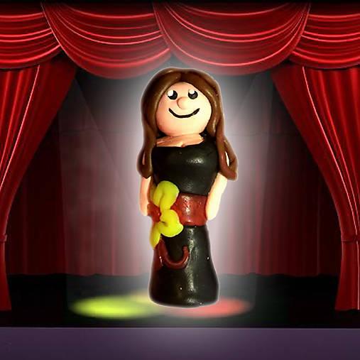 Rebeka, figúrka, dievča, bábika, postavička, figúrky na hranie, žena, šaty