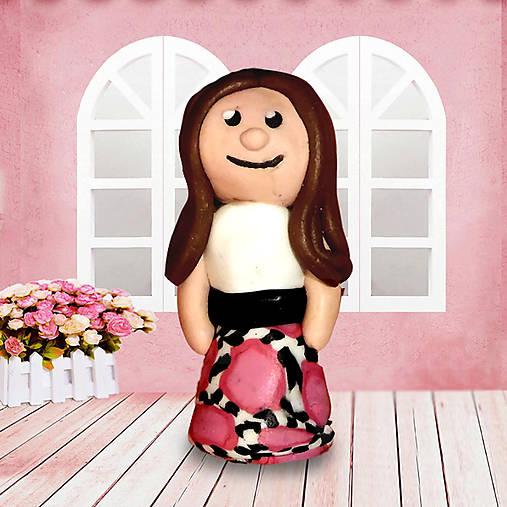 Katka, figúrka, dievča, bábika, postavička, figúrky na hranie, žena, šaty