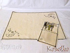 Úžitkový textil - Stolček prestri sa - prestieranie - 6039482_