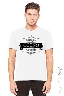 Oblečenie - Pánske tričko krátky rukáv NAJLEPŠÍ OCINO - 6036801_