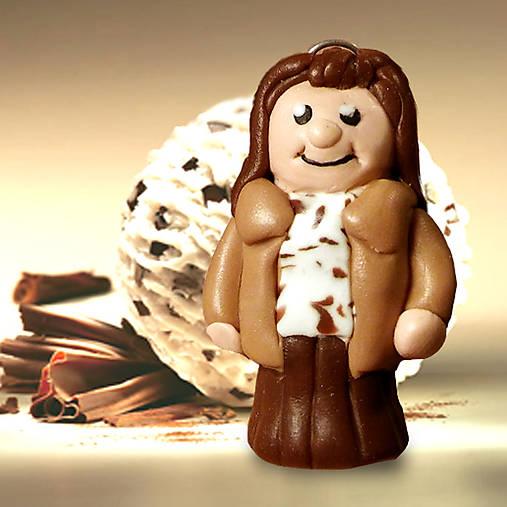 Ivana, Stracciatella, čokoláda, sladká, postavička, figúrka, mňam, dievča, žena, bábika, na zjedenie