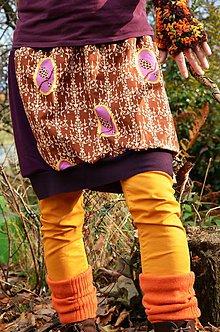Tehotenské oblečenie - Ptačí podzimková - 6055298_