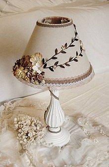 Svietidlá a sviečky - Lampa na želanie pre Evičku - 6056056_