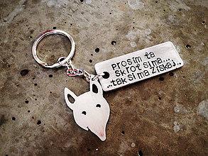 Kľúčenky - ..skroť si ma :) / mix 2ks / hrúbka 2mm - 6064902_