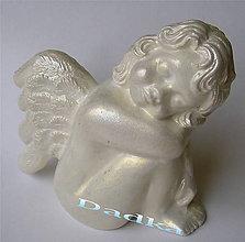 Dekorácie - Anjel - 6060934_
