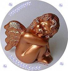 Dekorácie - Anjel - 6060939_