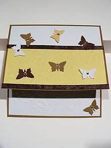 Papiernictvo - s motýľmi... - 6081766_