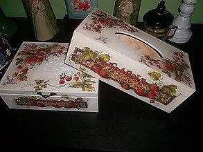 Krabičky - jahôdková sada - 6080827_