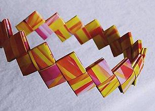 Ozdoby do vlasov - Čelenka - oranžovo žltá - 6099276_