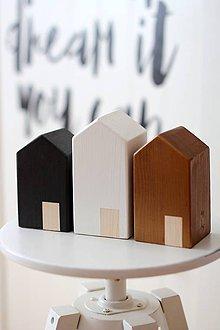 Dekorácie - Drevené domčeky SCANDI SIMPLE - 6102984_