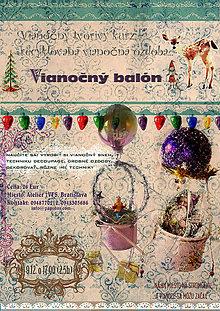 Kurzy - Tvorivý workshop - Vianočný balón - 6110257_