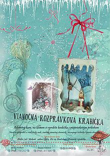 Kurzy - Vianočná rozprávková krabička - tvorivý workshop - 6110474_