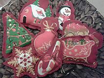 - Vianočné ozdoby na stromček - Amerika - 6115451_