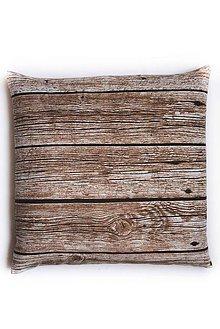 Úžitkový textil - _na dreve II (špaldový vankúš/podsedák) 40x40cm - 6118055_