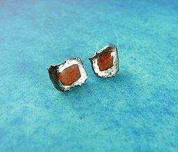 Náušnice - Tana šperky - keramika/platina - 6132966_