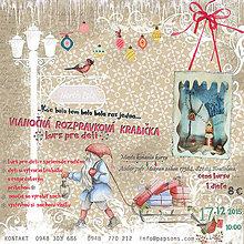 Kurzy - Vianočná rozprávková krabička - tvorivý workshop pre deti a maminy - 6141172_