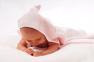 Textil - Predĺžený Rozmer Tenkej Deky 80cm x 100cm ± 5% 1-3 rok - 6143784_