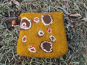 Peňaženky - horčicová peňaženka - 6175392_