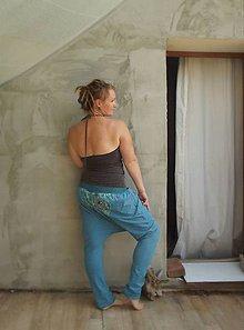 Tehotenské oblečenie - ...pohodářky proužkohoubičkové, pružné...na přání - 6189895_