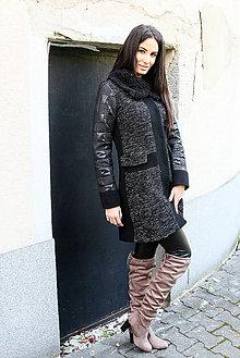Kabáty - Oteplená podšívka kabáta - 6190465_