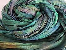 Šály - Decentne zelený - 6195778_