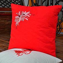 Úžitkový textil - Vianočné vankúšiky - 6210066_