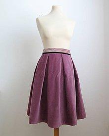 Sukne - vintage sukňa na zimu - 6222149_