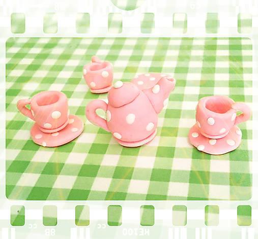 Čajový set pre bábiky