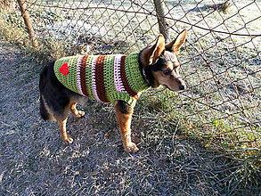 Pre zvieratká - pulóvrik pre psíka :) - 6225566_