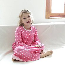 Detské oblečenie - košuľka Ruženka Šípkovie Hviezdičková - 6237682_
