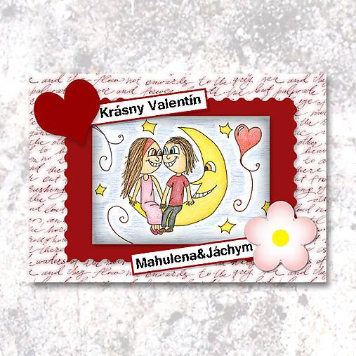 Na Mesiaci (valentínka tisíc slov)