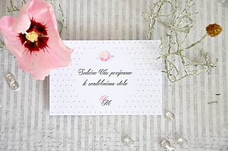 Papiernictvo - pozvanka Rose - 6255011_