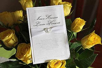 Papiernictvo - Svadobne oznámenie LO06 - 6257762_