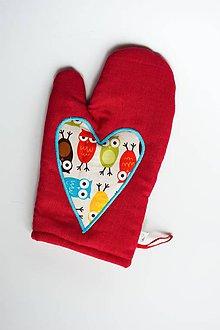 Úžitkový textil - Veľa lásky hú hú - 6263430_