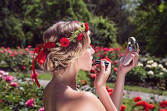 Ozdoby do vlasov - RUŽIČKOVÝ VENČEK by Hogo Fogo - 6264103_
