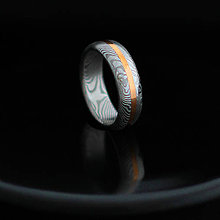 Prstene - Se zlatým pruhem - 6278926_