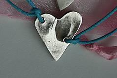 Náramky - Dve lásky v jednom srdci - 6279133_