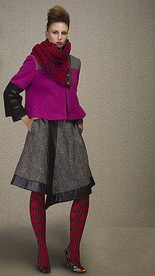 Kabáty - Vlnený kabátik TYNA - M/L - 6299371_